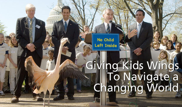 "Reed & Kirk Introduce Bipartisan ""No Child Left Inside Act"""