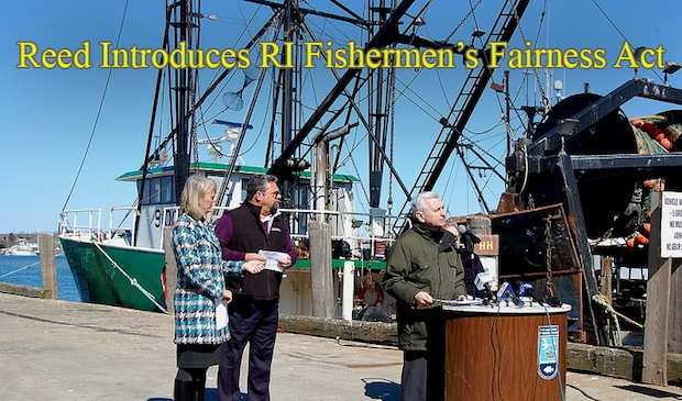 Reed, Langevin Seek to Give RI Fishermen a Say on Squid Management