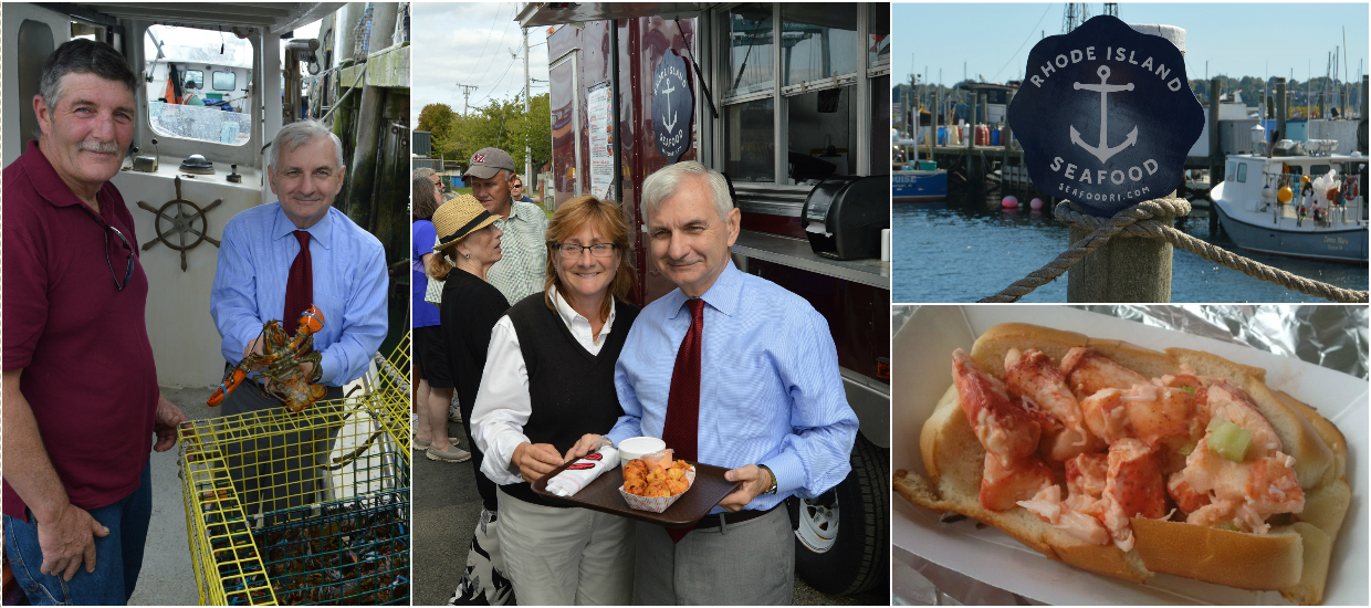 Reed Celebrates National Lobster Day in Newport