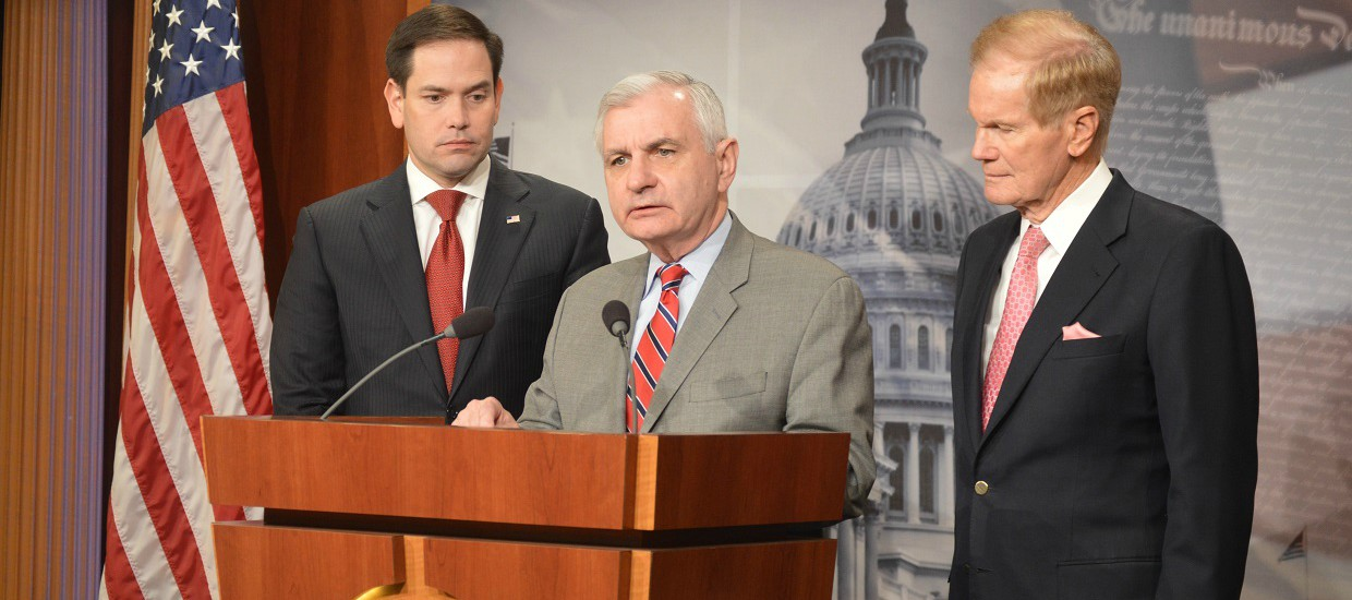 Rubio, Reed, & Nelson Introduce 'Red Flag' Bill to Help Prevent Gun Violence