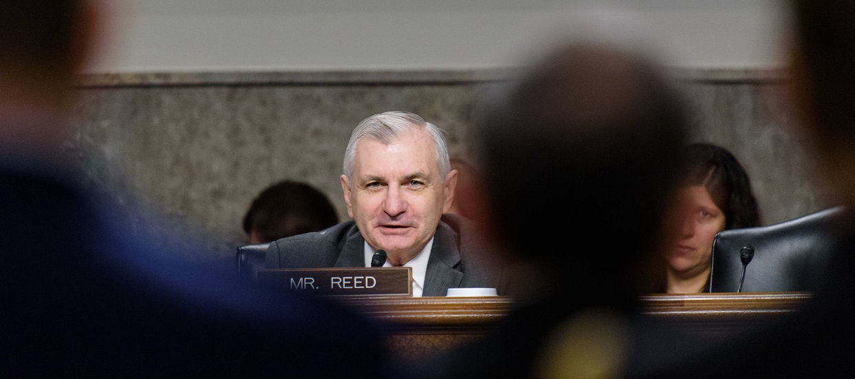 Opening Statement By Ranking Member Reed at SASC Hearing to