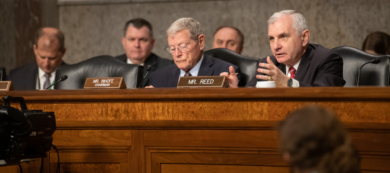Opening Statement by Ranking Member Reed at SASC Hearing on Nominations for Under Secretary of the Army and Assistant Secretary of the Navy for Energy, Installation, and Environment