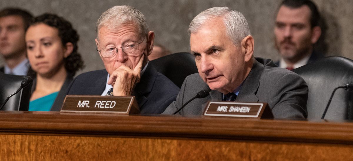 Opening Statement by Ranking Member Reed at SASC Hearing on Posture of the Department of the United States Air Force