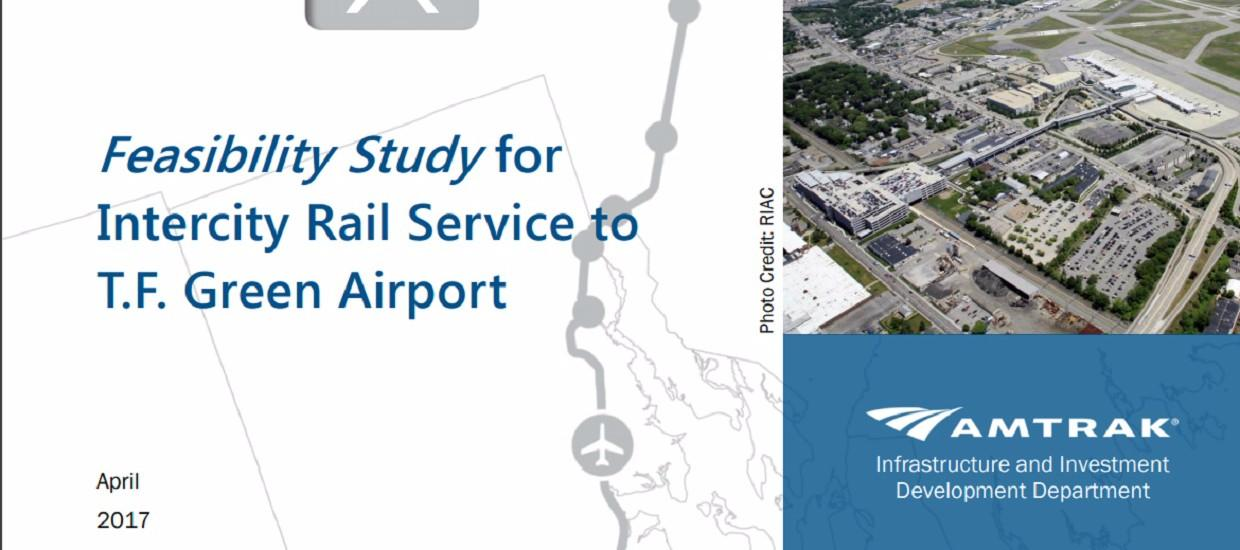 Feds Provide Road Map for New Rail Service to T.F. Green Airport