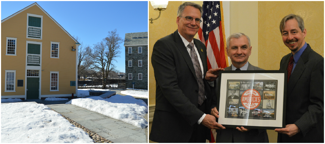 Reed Receives RI Preservation Award & National Recognition as National Park Champion