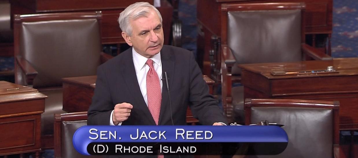 Senator Reed's Remarks on Senator Claiborne Pell