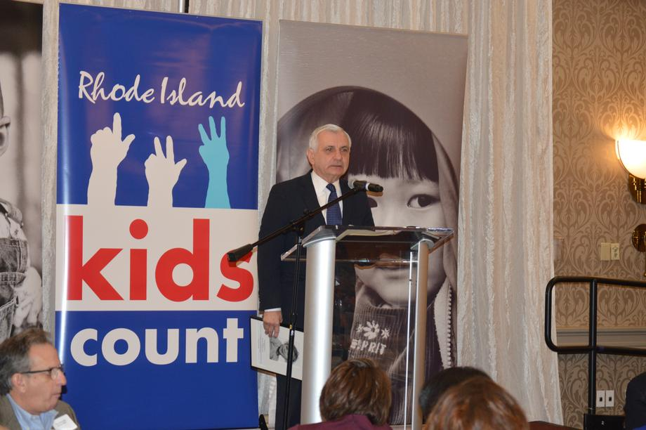 Reed Celebrates Children's Health Initiatives at Annual Kids Count Luncheon