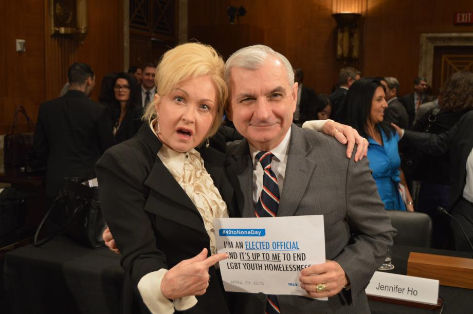 Reed & Collins Lead Congressional Hearing on Youth Homelessness