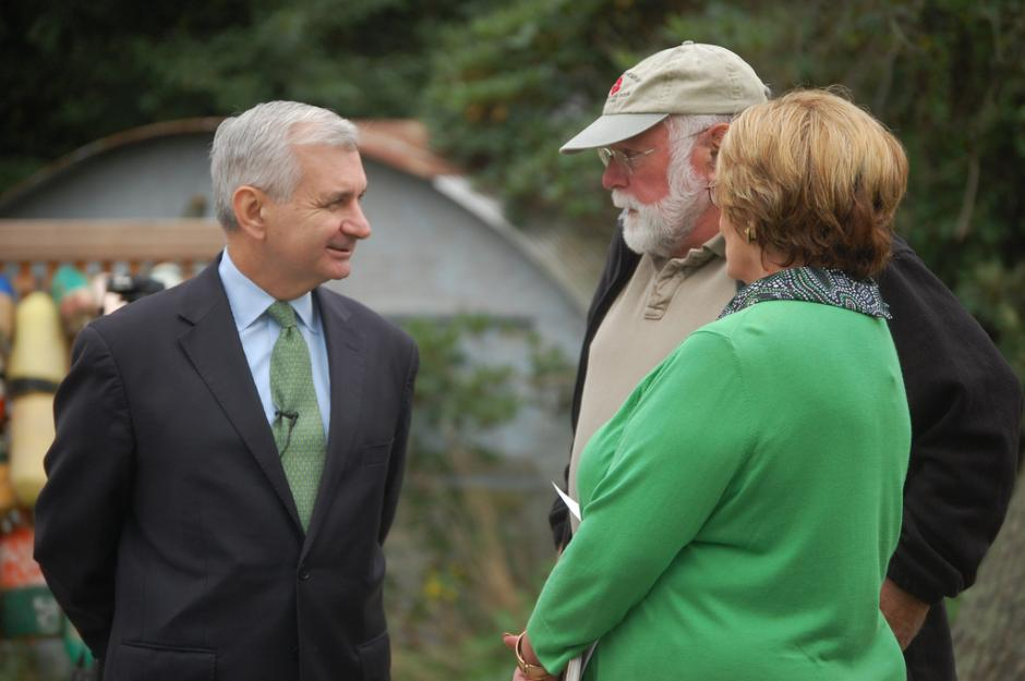 Reed Tours Renovated Commercial Fisheries Center