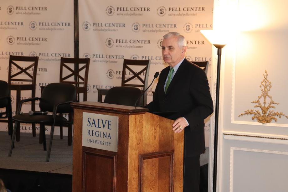 Reed Honors Life & Legacy of Senator Claiborne Pell at Salve Regina's Pell Center