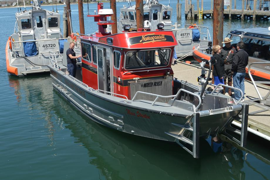 Reed Helps Dedicate New Rescue Vessel for Narragansett Fire Department
