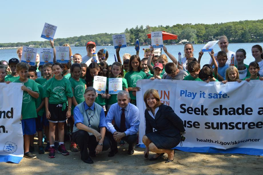 Reed Visits Coventry Summer Camp to Highlight Sun Safety Efforts