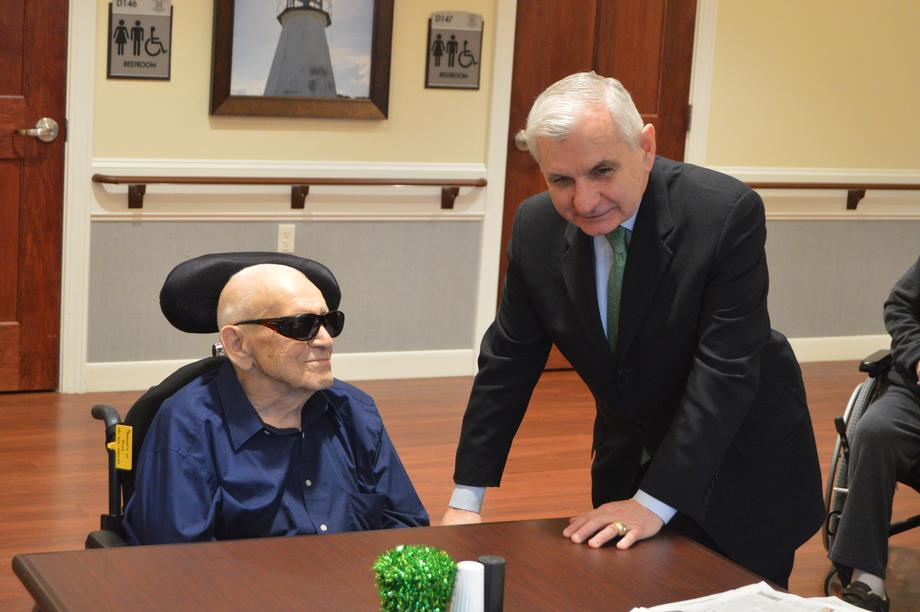 Reed Visits Rhode Island Veterans Home in Bristol to Push for Better Care for America's Veterans