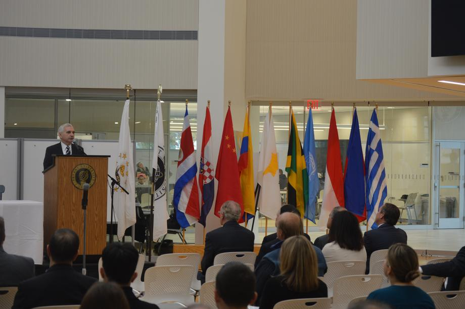 Reed Hosts Global Trade Forum at Bryant University