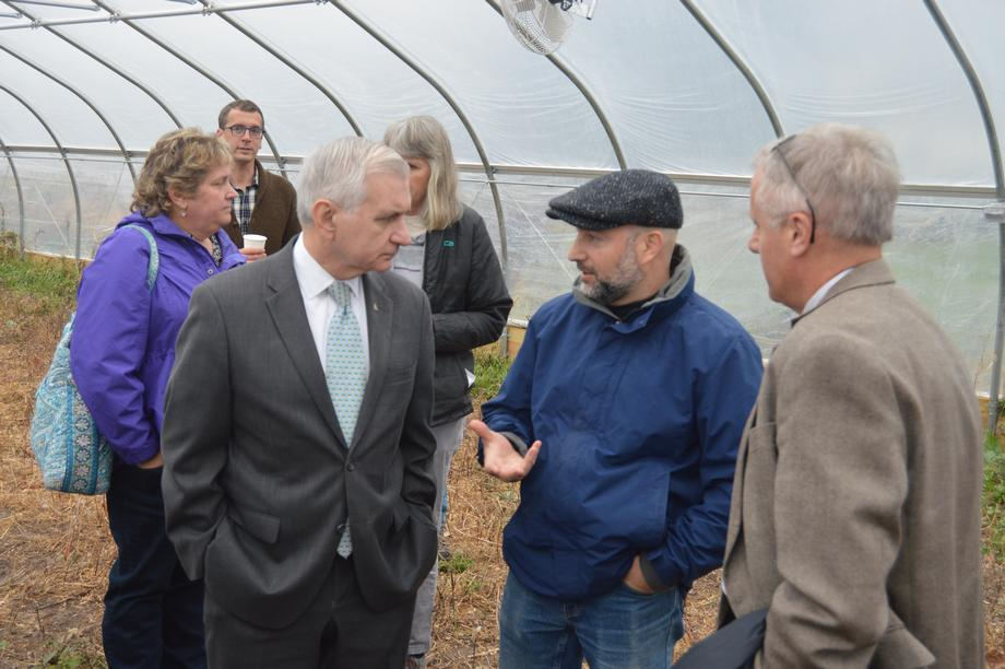 Reed Announces Grant to Help Grow the Next Generation of RI Farmers