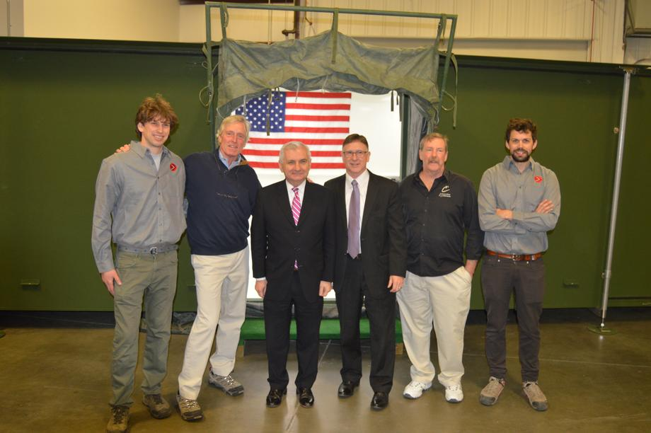 Reed Visits Local Manufacturing Companies Discuss Local Manufacturing Business Climate