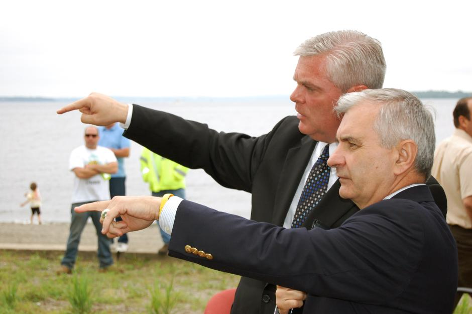 Reed Attends Public Opening of Rocky Point Park
