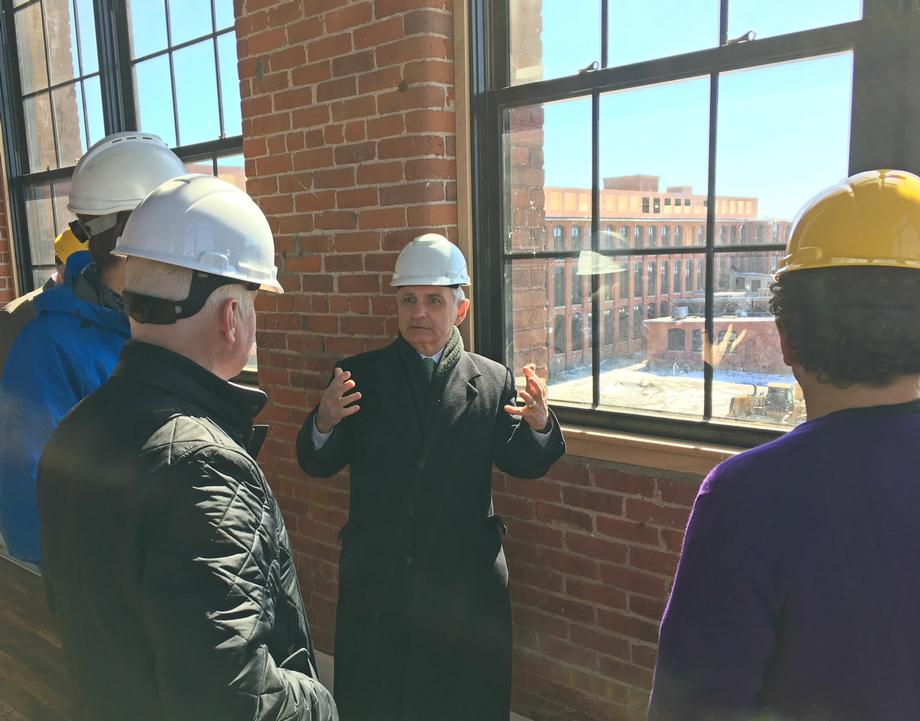 Reed Tours American Tourister Project in Warren