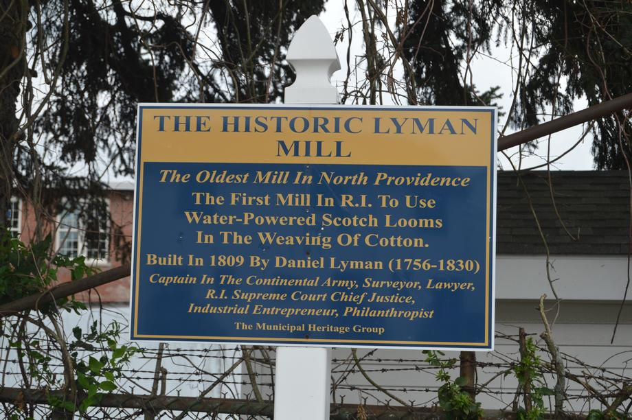 Reed Tours Lyman Mill Restoration Project
