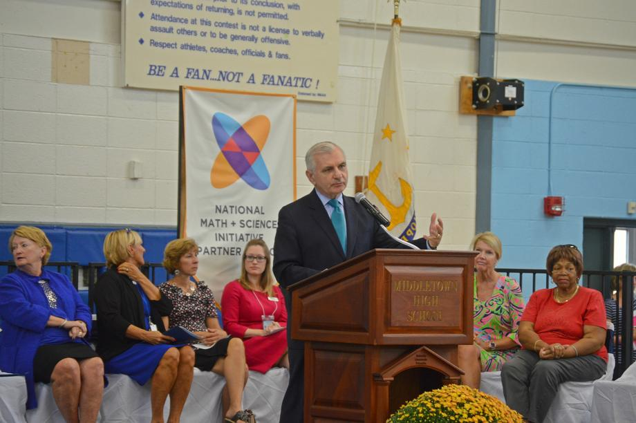 Reed Celebrates Success of College Readiness Program at Middletown High School
