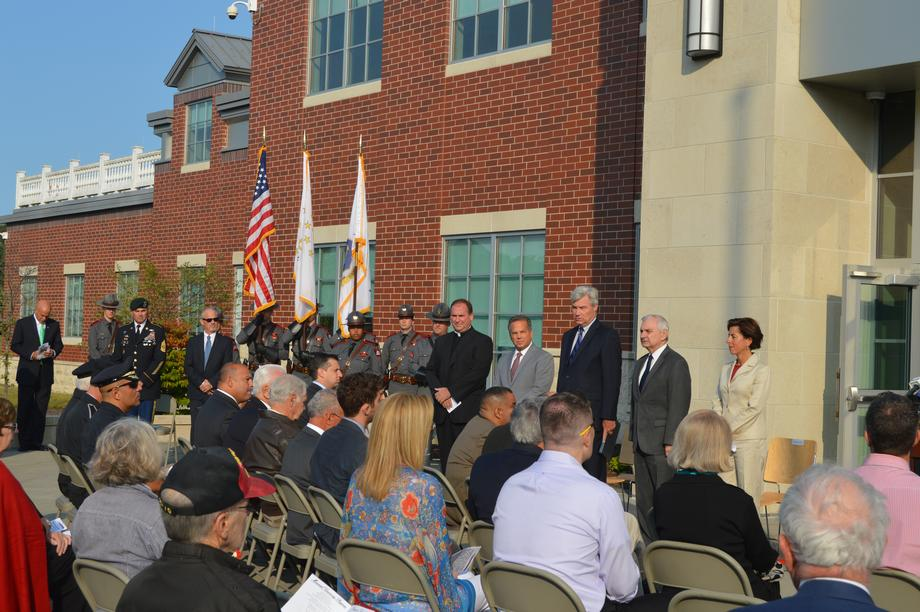 Reed Honors Victims of 9/11 Attacks at Memorial Ceremony