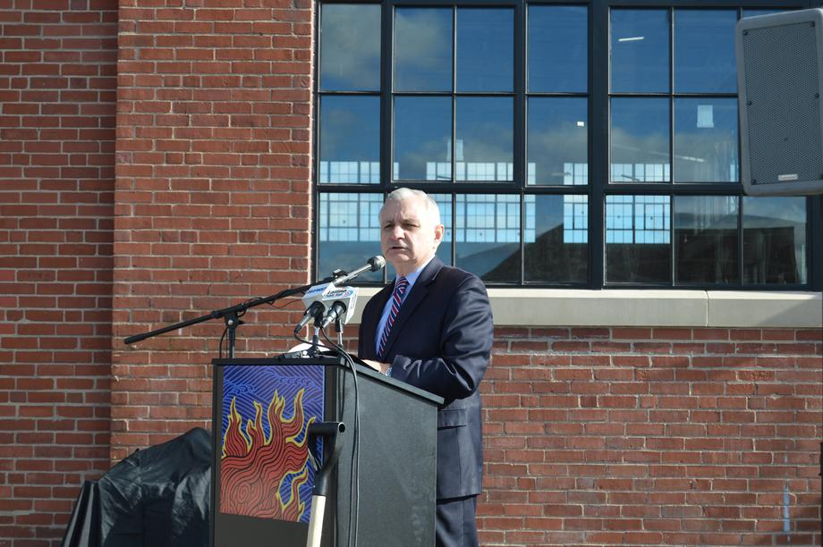Reed Celebrates Groundbreaking of WaterFire Arts Center