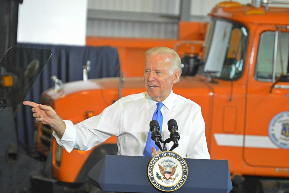 Vice President Biden, Senator Reed Speak in Rhode Island About the Importance of Infrastructure Funding