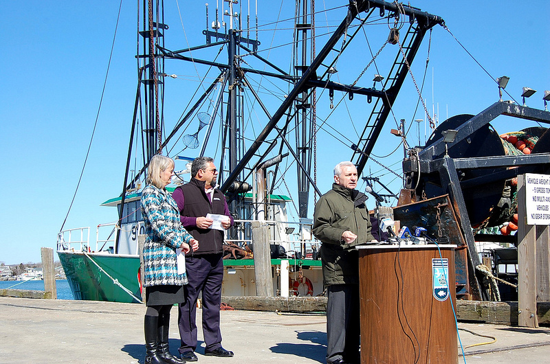 Reed Introduces the Rhode Island Fishermen's Fairness Act