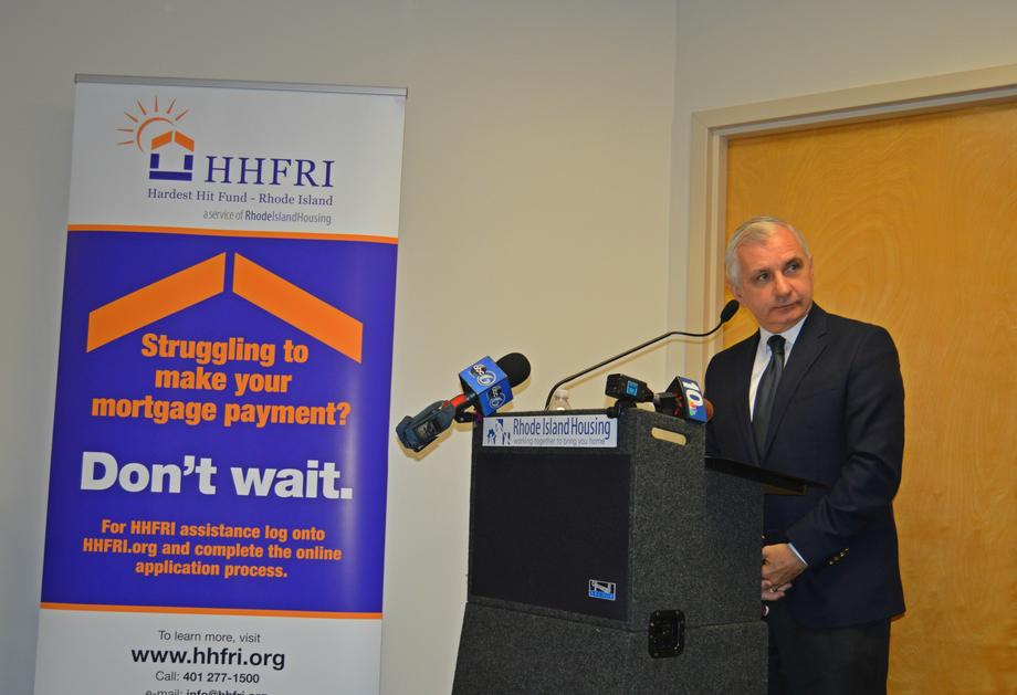 Reed Helps Rhode Island Housing Open New Help Center and Hardest Hit Fund Office