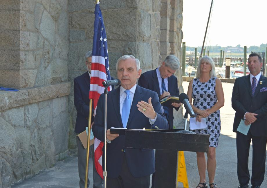 Reed Helps Celebrate Grand Opening Of The Bristol Maritime Center