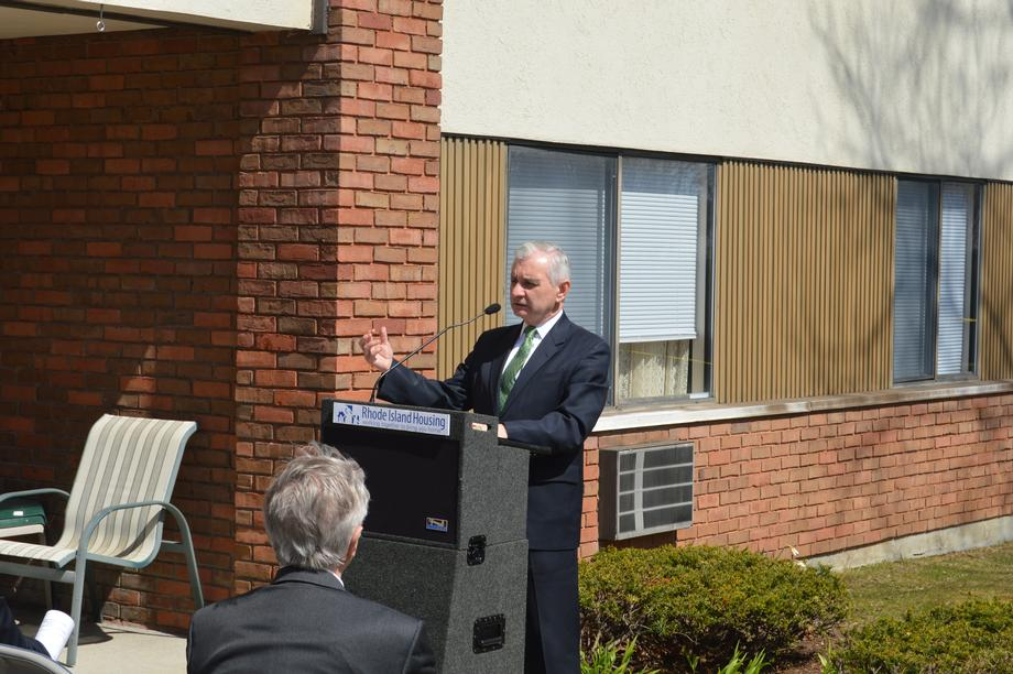Reed Attends Groundbreaking for Greenwood Terrace Renovations