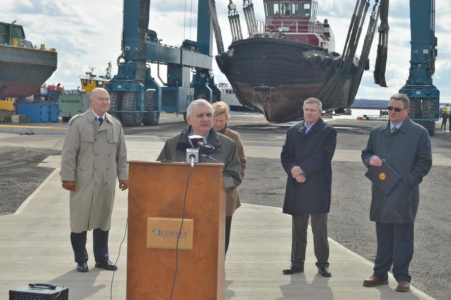 Reed, MARAD Administrato Meet with RI Shipbuilders Discuss New Efforts to Support Marine Jobs, Economic Development & Infrastructure Improvements