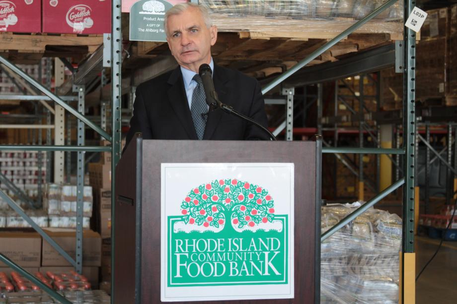 Reed, RI Community Food Bank, USDA & RI Division of Elderly Affairs Launch New Food Assistance Program for Seniors
