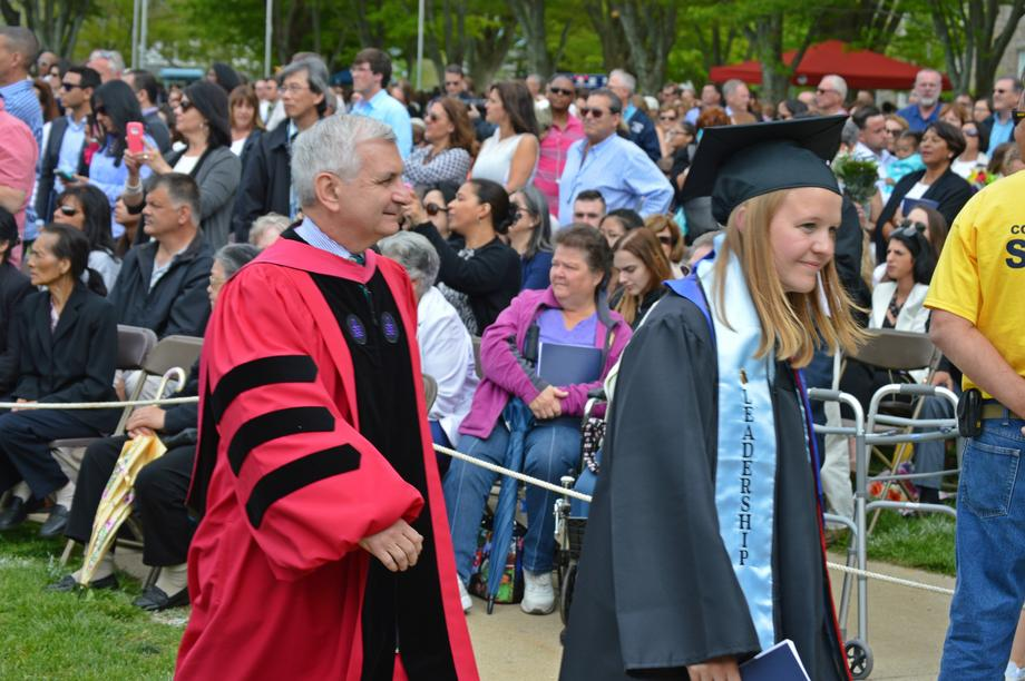 Reed Takes Part in the University of Rhode Island's 130th Commencement Ceremony