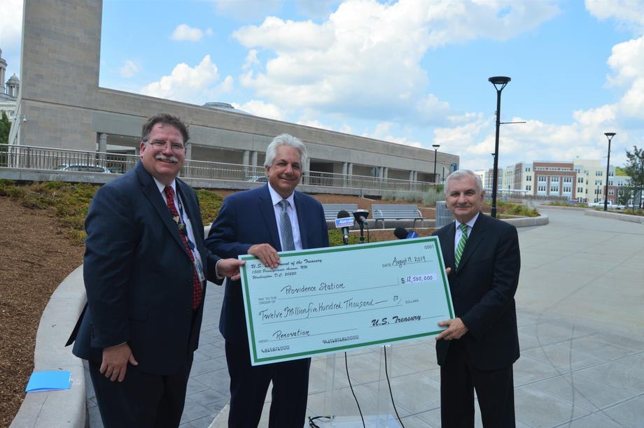 Reed Delivers New Federal Funds for $25 Million Upgrade to Modernize Providence Rail Station