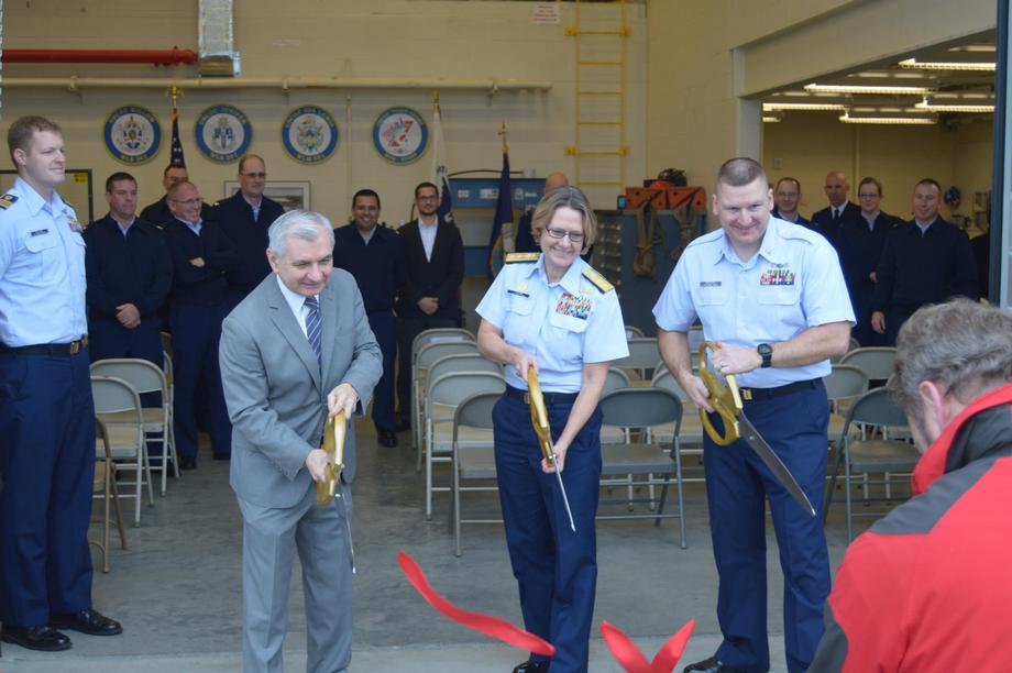 Reed, U.S. Coast Guard Celebrate Completion of Multi-Million Dollar Upgrade to Waterfront at Naval Station Newport