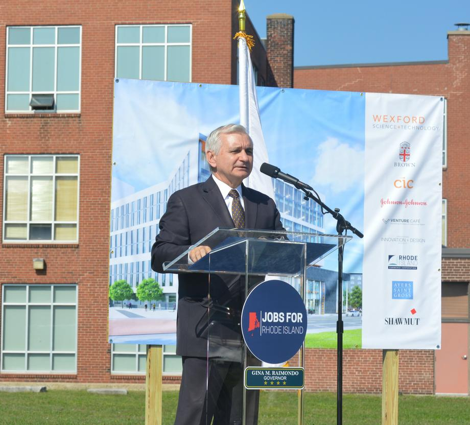 Reed Helps Break Ground on New Innovation Center in Providence
