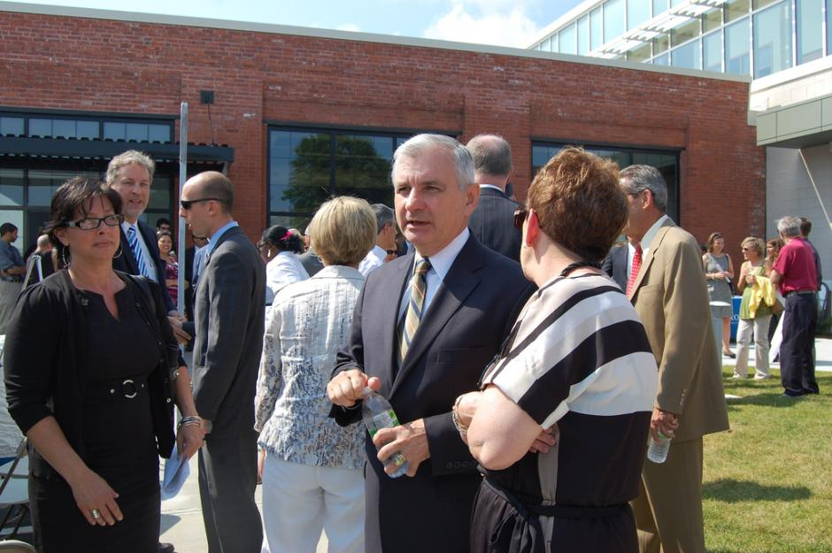 Reed Celebrates Grand Opening of the New Allen Berry Health Clinic