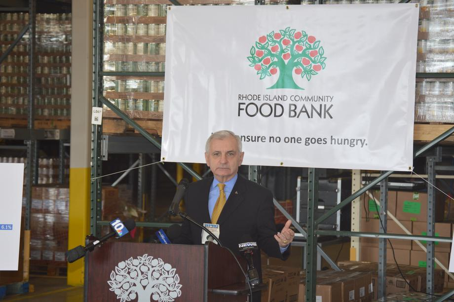 Reed, RI Food Bank Release Status Report on Hunger in RI