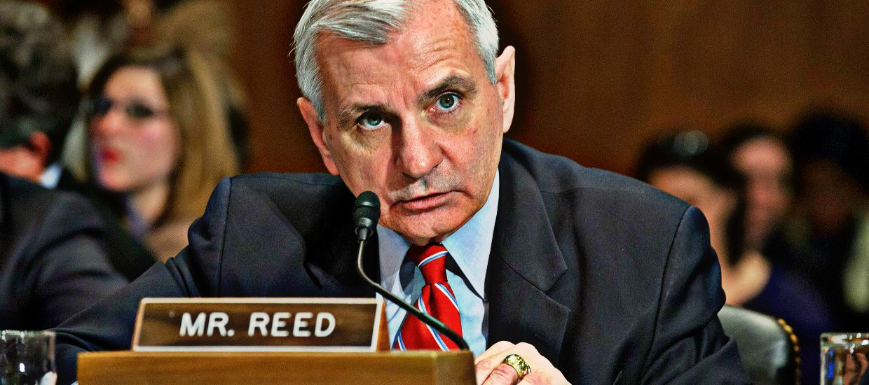 Reed Meets with Pence on Coronavirus Response