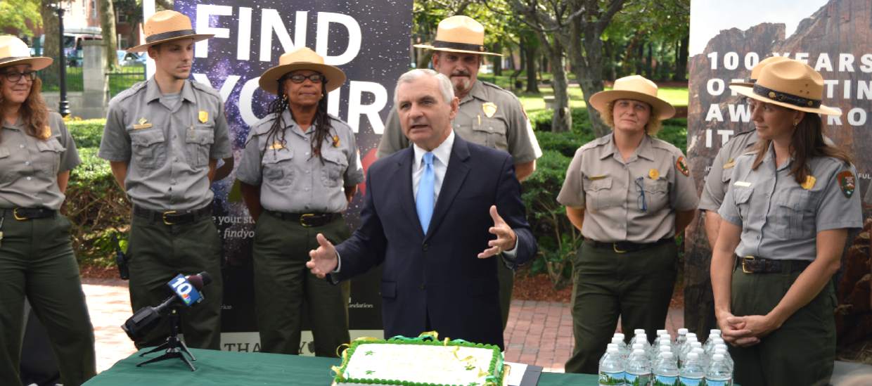 Reed Celebrates National Park Service Centennial With Local Junior Park Rangers